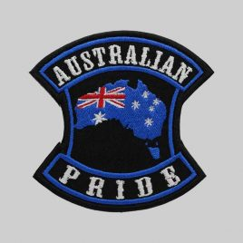 Australian Embroidery Patches